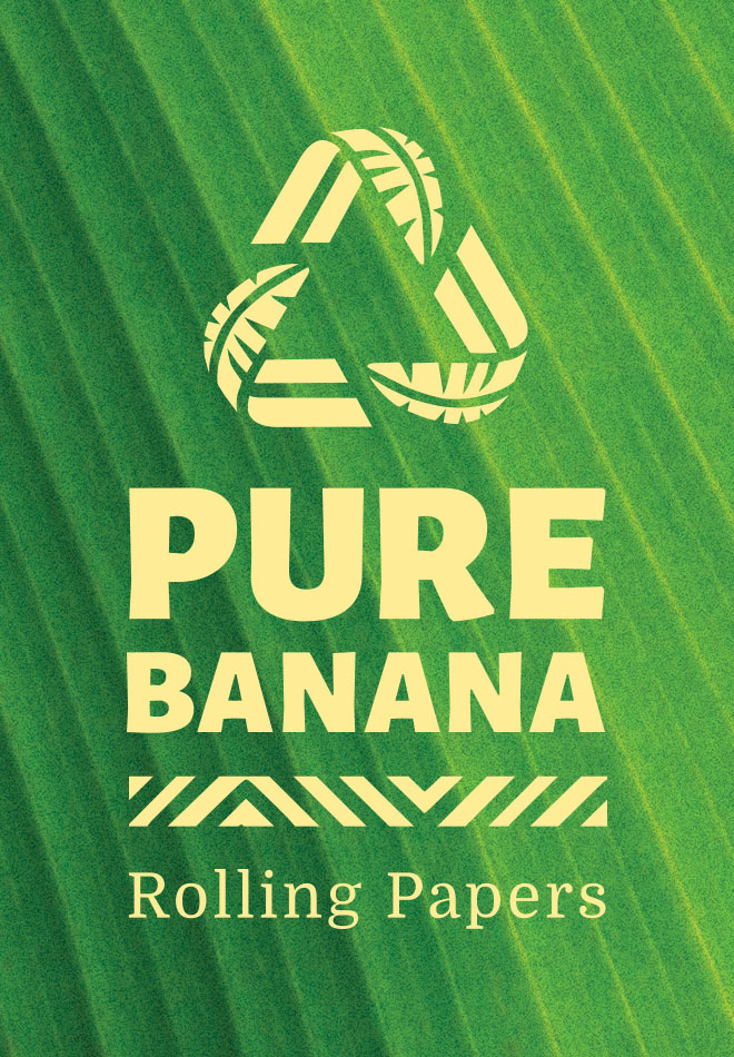 Pure Banana Rolling Papers